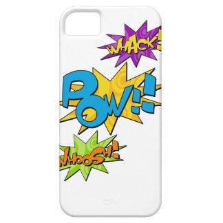 Whoosh Whack Pow iphone Case