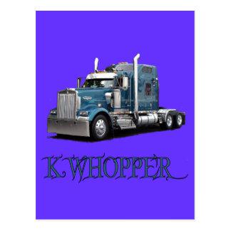 Whopper de K Tarjetas Postales