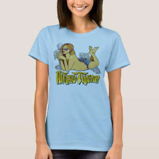 Whores of Tijuana Original Smoking Girl T-Shirt