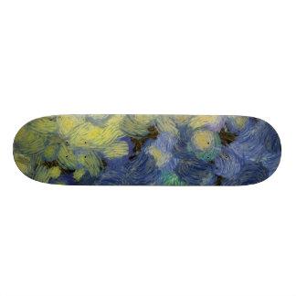 Whorls and more whorls skateboard deck