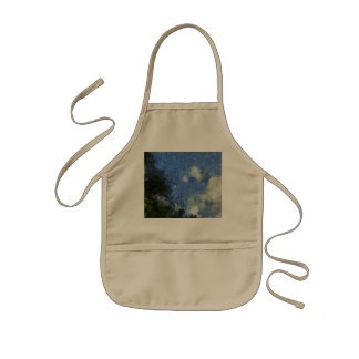 Whorls of the sky kids' apron