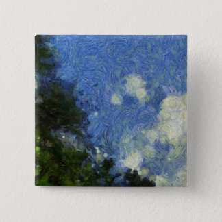 Whorls of the sky pinback button