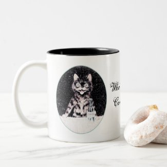 Who's a Crazy Cat Lady? 11oz Mug