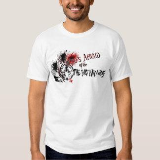 Who's Afraid of the Big Bad Wolf Tee Shirt