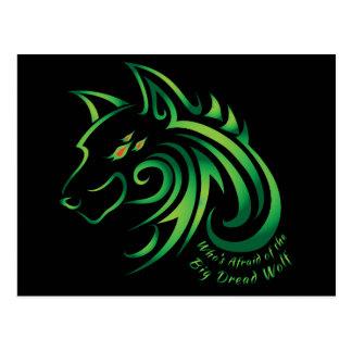 Who's Afraid of the Big Dread Wolf Postcard