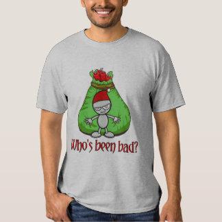 Who's Been Bad Christmas Shirt