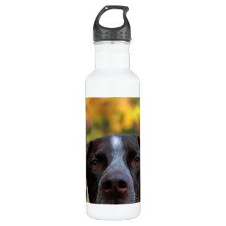 Who's Dat Dog? Water Bottle