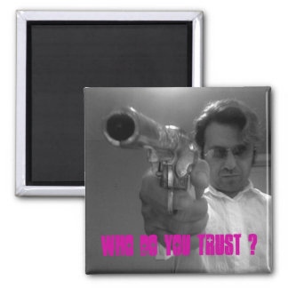 Who's Dirty Jack 2 Inch Square Magnet