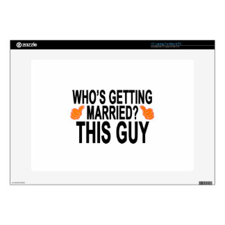 Who's Getting Married.png Laptop Decal