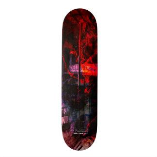 Who's Gonna Tell? Custom Skate Board