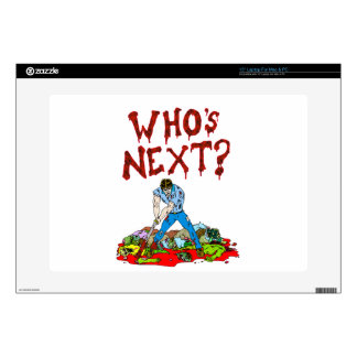 Who's Next? Zombies Laptop Decal