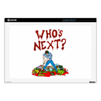 """Who's Next? Zombies Skins For 17"""" Laptops"""