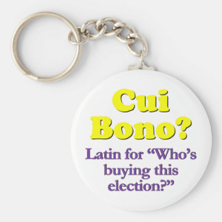 Who's paying for the campaign basic round button keychain