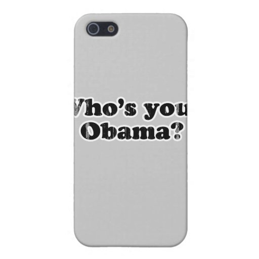 whos su obama Faded.png iPhone 5 Carcasas