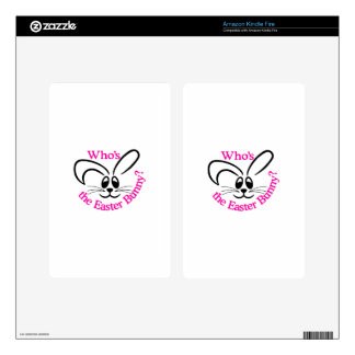Whos The Easter Bunny Skins For Kindle Fire