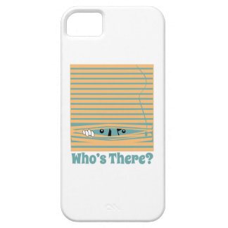 Whos There? iPhone 5 Covers