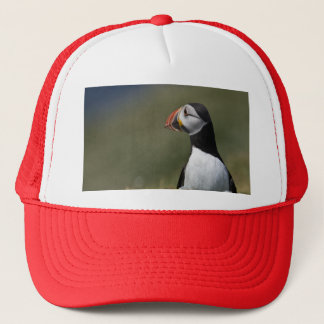 Who's There Puffin Trucker Hat