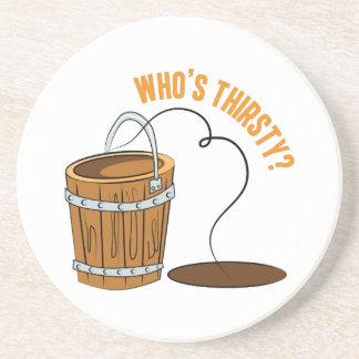Whos Thirsty? Beverage Coasters