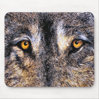 Who's Watching Wolf Eyes Mouse Pad