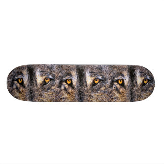 Who's Watching Wolf Eyes, Skateboard Deck