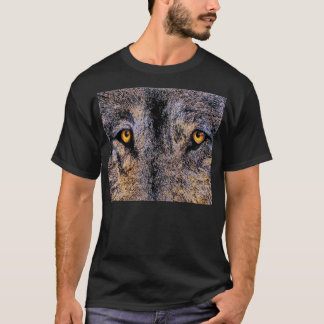 Who's Watching Wolf Eyes T-Shirt