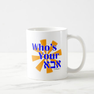 Who's your Abba / Daddy Classic White Coffee Mug