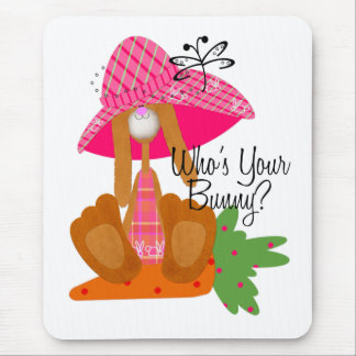 Who's Your Bunny? Mouse Mats