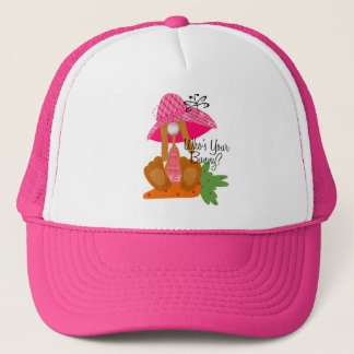 Who's Your Bunny? Trucker Hat