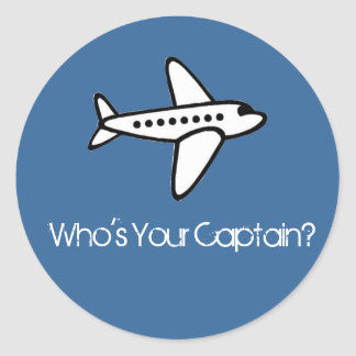 Who's Your Captain? Sticker