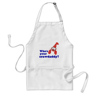 Who's Your Crawdaddy? Adult Apron