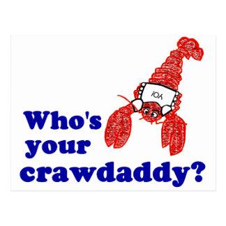 Who's Your Crawdaddy? Postcard