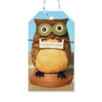 Who's Your Cutie Owl Gift Tag