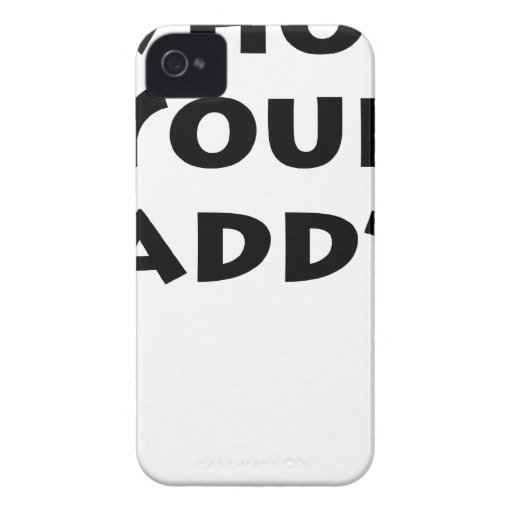Who's Your Daddy? iPhone 4 Case-Mate Case