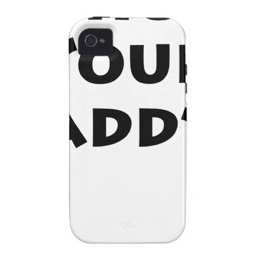 Who's Your Daddy? iPhone 4/4S Cases