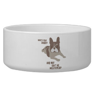 Who's Your Daddy? Pet Bowls
