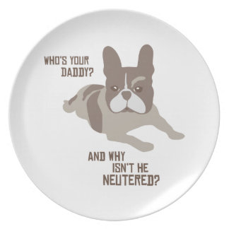 Who's Your Daddy? Plates