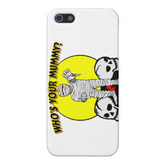 Who's Your Mummy iPhone SE/5/5s Cover