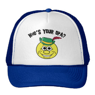 Who's Your Opa? Trucker Hat