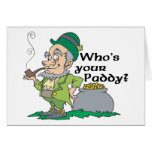 Who's Your Paddy? Cards