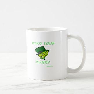 Who's Your Paddy Coffee Mug