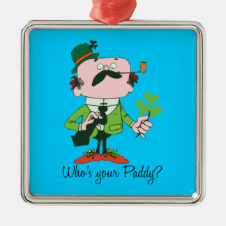 Who's Your Paddy Keepsake Ornament