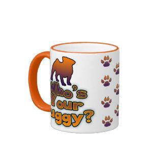 Who's your Puggy? Ringer Mug