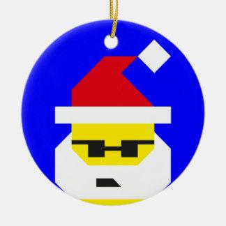 Who's Your Santa, Baby? Ceramic Ornament
