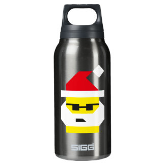 Who's Your Santa, Baby? Insulated Water Bottle