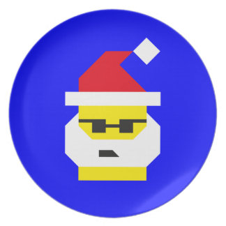 Who's Your Santa, Baby? Plate