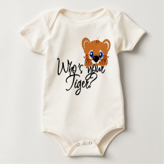 Who's your Tiger? Baby Bodysuit