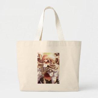 Who's your waifu? large tote bag
