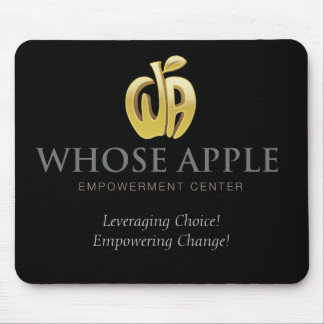 Whose Apple - Mouse Pad