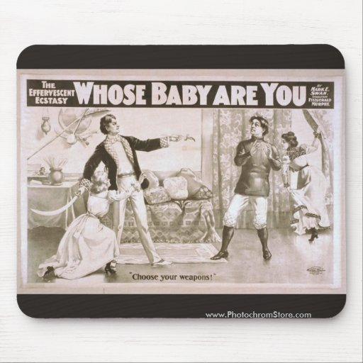 Whose Baby are You?, 'Choose your Weapon' Retro Th Mousepads