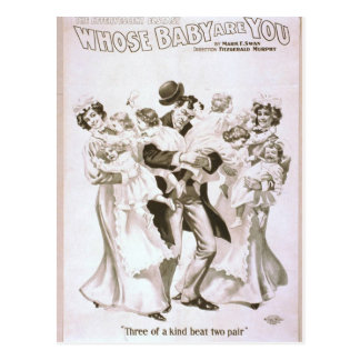 Whose Baby are You? Post Card